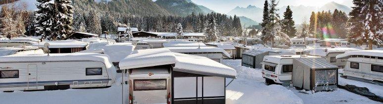 Winterkamperen, © Euro Camp Kössen
