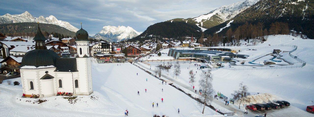 Langlaufcentrum Seefeld, © Tirol Werbung/W9 STUDIOS