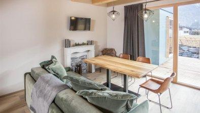 Wohnzimmer Alpegg Chalets
