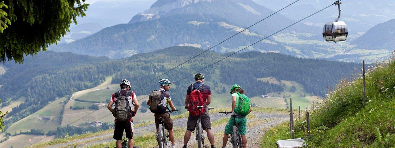 Bikeschaukel etappe in Wildschönau, © Tirol Werbung/Olivier Soulas