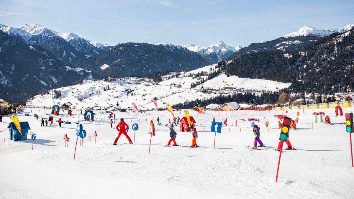 Bertas Kinderland bij het middenstation van de Sonnenbahn in Fiss, © Tirol Werbung/Robert Pupeter