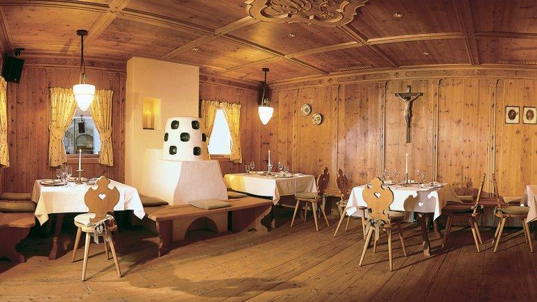 Schlossherren-Stube in Hotel Romantica in Ischgl, © Schlosshotel Romantica