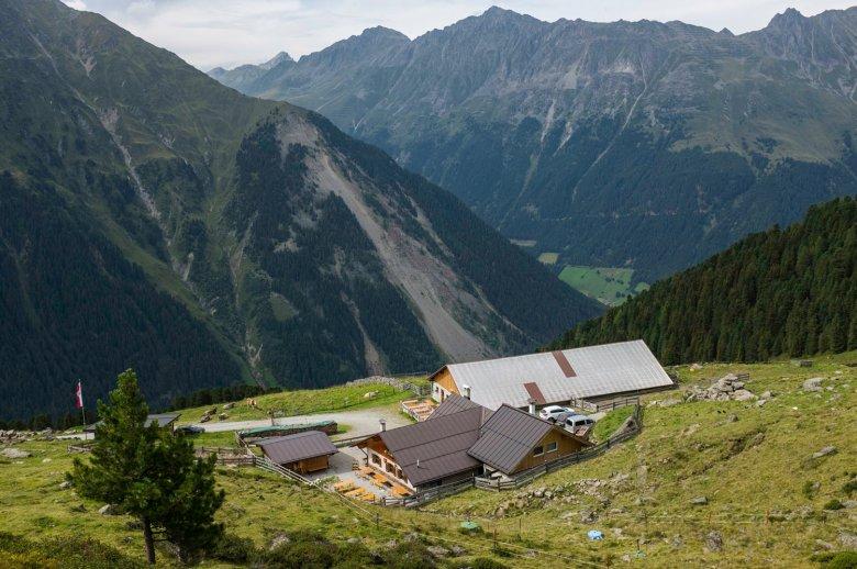 De Juifenalm is één van de vele berghutten in Sellrain. , © Tirol Werbung, Jörg Koopmann