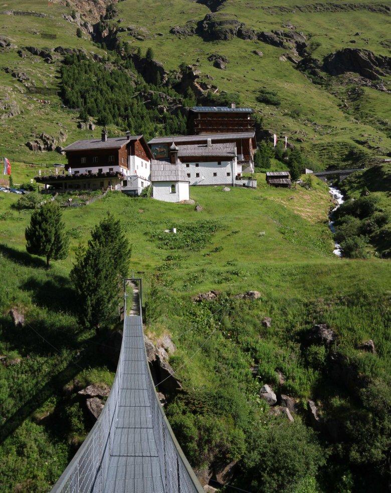 De Rofenhöfe bij Vent zijn de hoogstgelegen bergboerderijen in Oostenrijk, die het hele jaar geopend zijn. , © Tirol Werbung Bernhard Aichner
