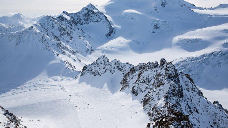 Pitztaler gletsjerskigebied, © Tirol Werbung/W9 STUDIOS
