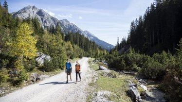 Gaistal tussen Ehrwald en Leutasch, © Tirol Werbung/Dominik Gigler