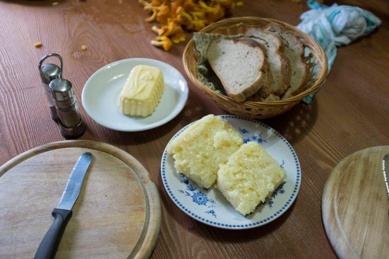 Uit eigen keuken: de Falbesoner Ochsenalm is een van de weinige almen in de regio waar zelf melk, boter en Graukäse worden gemaakt.