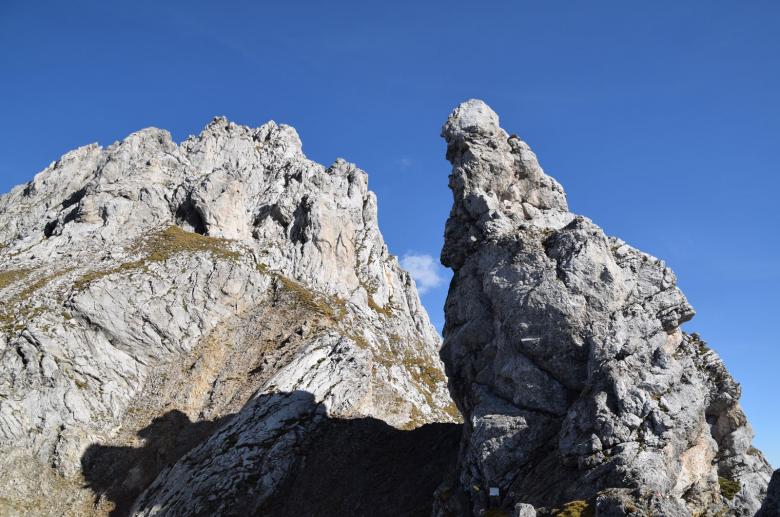 Een bergtop of een reusachtige koningin op haar ros?Foto: www.almenrausch.at