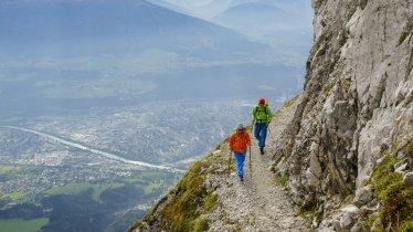 Goetheweg met uitzicht over Innsbruck, © Tirol Werbung/Hans Herbig