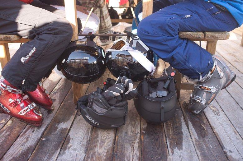 Belangrijk! Laat je schoenen na iedere wintersportdag goed drogen. , © Hans Herbig