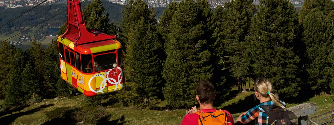 Adelaarsweg etappe 13: Patscherkofelbahn, © Innsbruck Tourismus