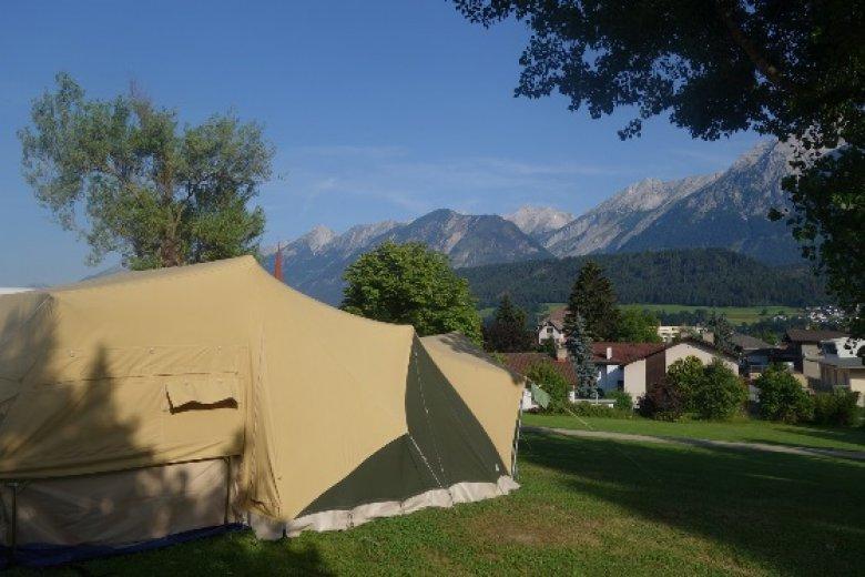 Uitzicht op de camping – Copywright F. Fenneman-Koch