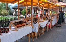Boerenmarkt in Stanz bei Landeck, © Archiv TirolWest/Carmen Haid