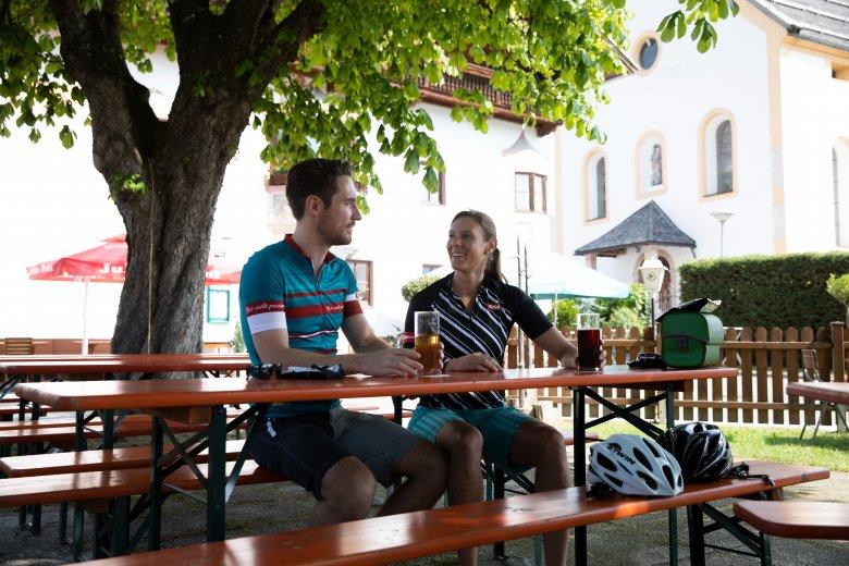 Biergarten. , © Tirol Werbung, Oliver Soulas