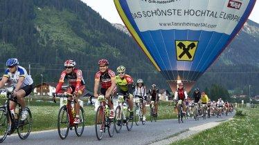 Bij de Rad-Marathon Tannheimer Tal zijn er drie routes om uit te kiezen., © Marco Felgenhauer