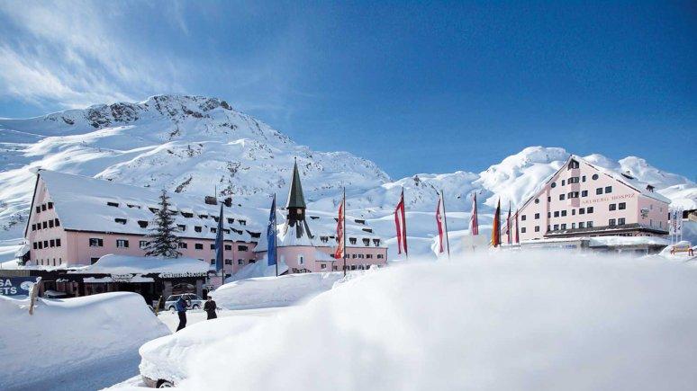5 sterren Hotel Hospiz in St.Christoph am Arlberg, © Arlberg Hospiz