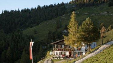 Adelaarsweg etappe 4: Gasthof Buchacker, © Tirol Werbung/Jens Schwarz