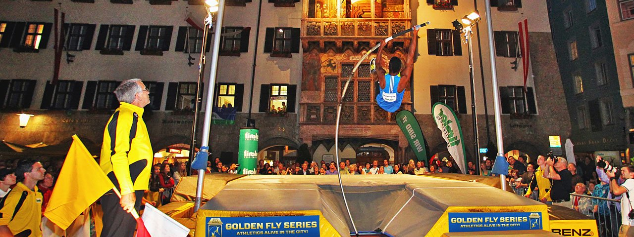 Internationale Golden Roof Challenge in Innsbruck, © Helmut Ploberger