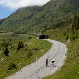 Wielrennen in Kühtai, © Tirol Werbung/Soulas Oliver
