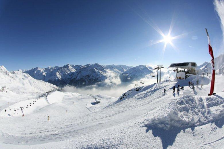 Skigebied Sölden