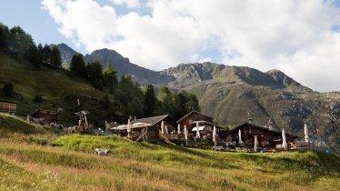 De Gampe Thaya in de Ötztaler Alpen