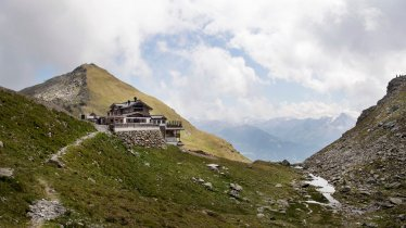 5-sterren hut op een geweldige locatie, © Tirol Werbung/Frank Bauer