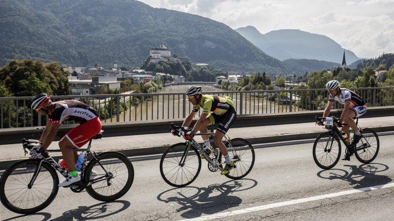 De Kufsteinerland-Wielermarathon begint in de vestingstad Kufstein, © Sportalpen Marketing