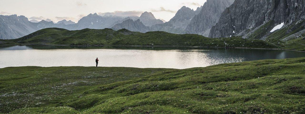 Steinsee in de Lechtaler Alpen, © Tirol Werbung/Sebastian Schels