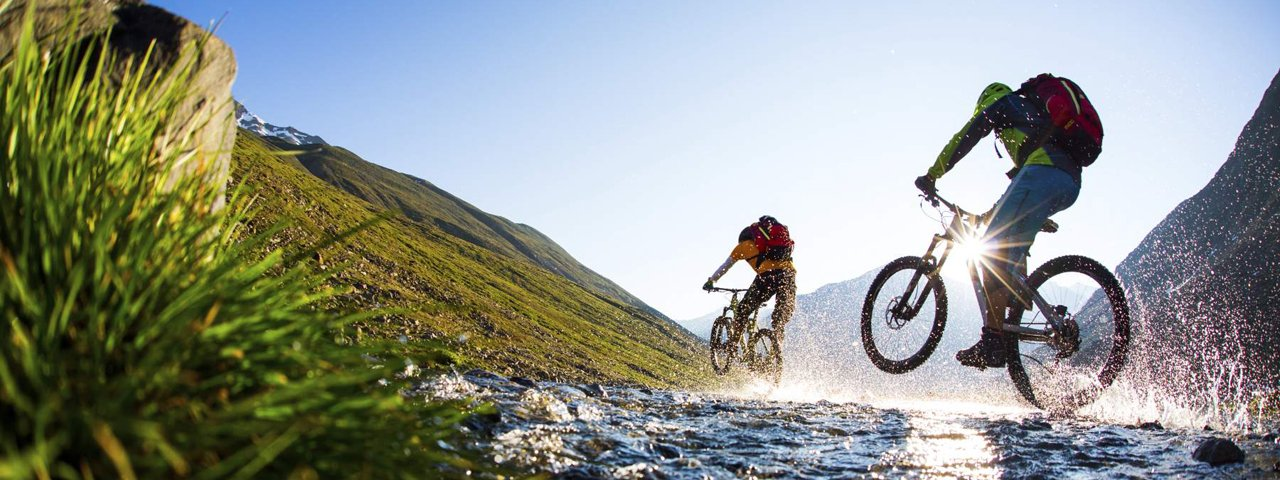 Mountainbiken in Oetz, © Ötztal Tourismus