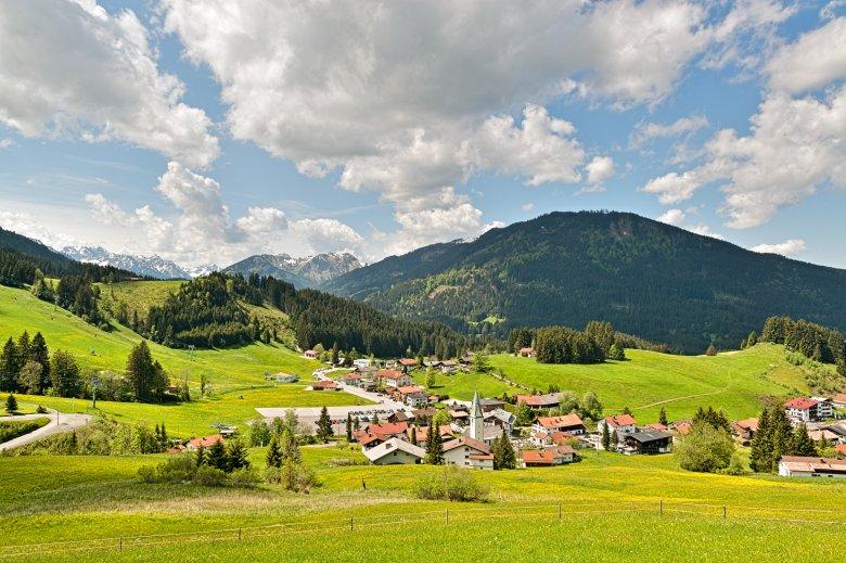 Een stukje Tirol in Beieren, de enclave Jungholz. (Foto: Tourismusverband Tannheimer Tal/Achim Meurer), © Tourismusverband Tannheimer Tal/Achim Meurer