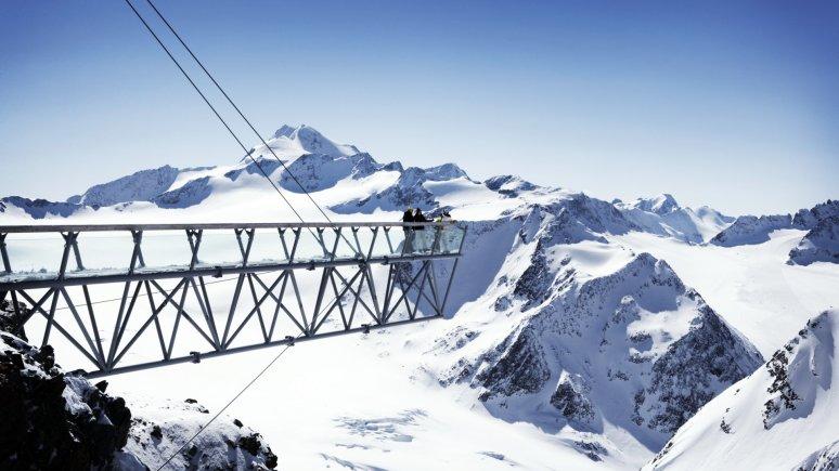 Big 3 Gipfelplattformen Sölden, © Ötztal Tourismus