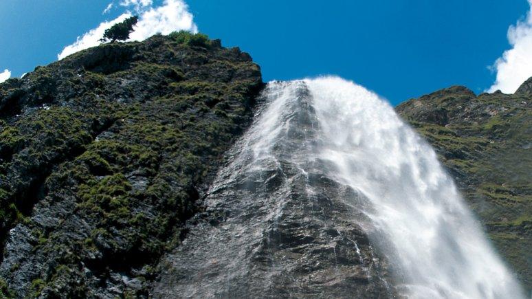 Waterval Hintertux, © TVB Tux-Finkenberg