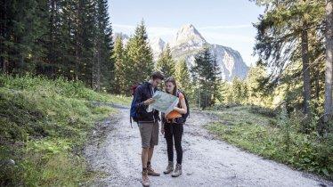 Wandelen in het Gaistal, © Tirol Werbung/Dominik Gigler